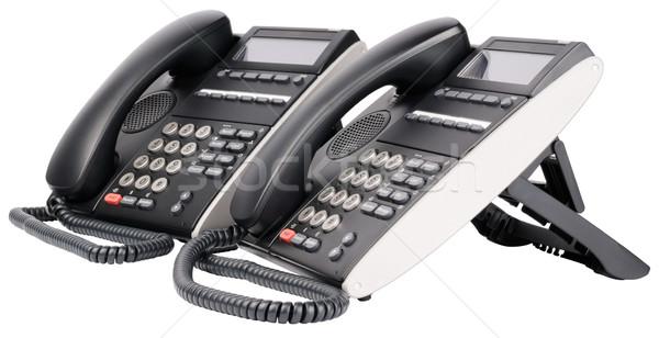Digital multi-button telephone sets Stock photo © vtls