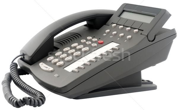 Foto stock: Oito · botões · escritório · digital · telefone · conjunto