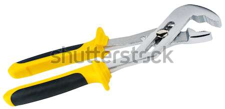 Wire-cutter isolated on white Stock photo © vtls