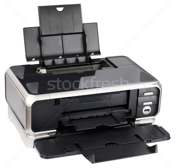 Ink-jet printer isometric view Stock photo © vtls
