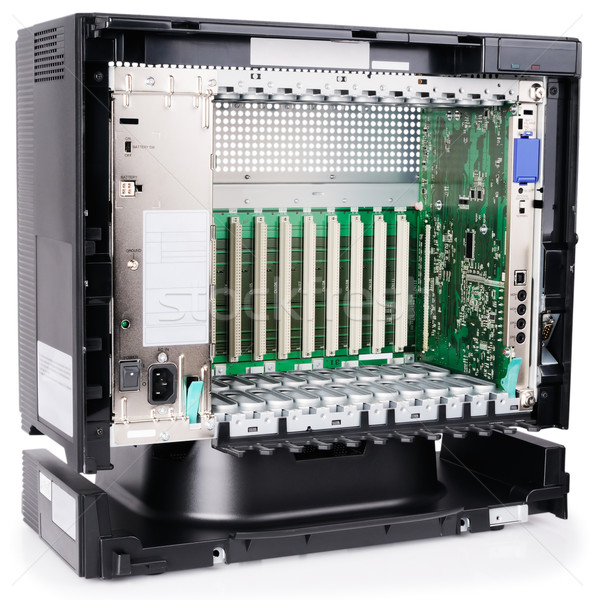 Phone switch chassis Stock photo © vtls
