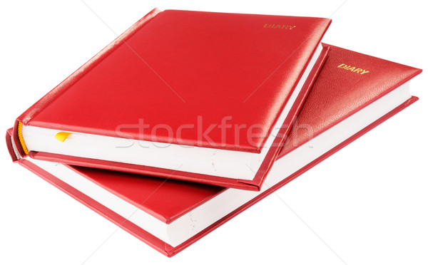 Two red personal organizers Stock photo © vtls