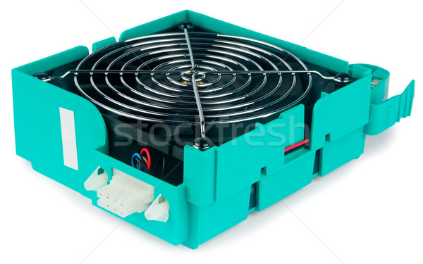 Spare cooler over white Stock photo © vtls