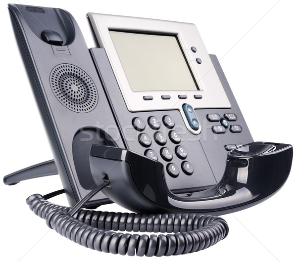 IP telephone off-hook Stock photo © vtls