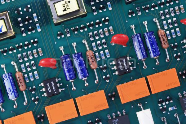 回路基板 表示 技術 背景 ストックフォト © vtls