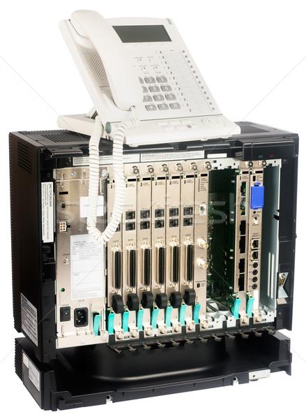 Phone switch and phone set Stock photo © vtls