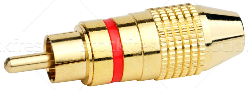 Audio connector isolated Stock photo © vtls