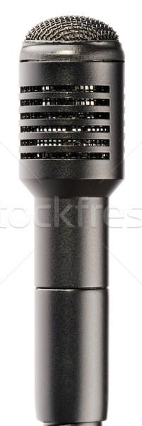 Microfoon moderne studio geïsoleerd witte Stockfoto © vtls