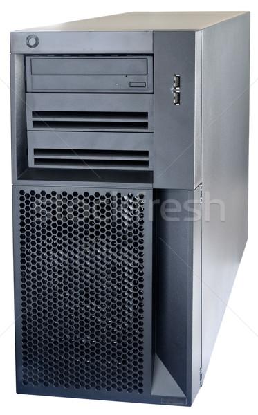 Desktop server isolated on white Stock photo © vtls