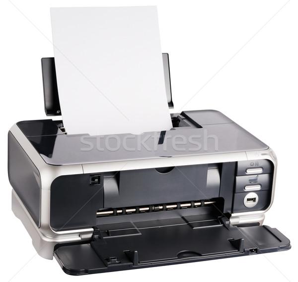 Ink-jet printer loaded Stock photo © vtls
