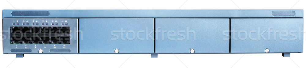Telephone switch front view Stock photo © vtls