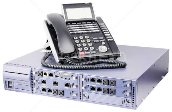 Phone switch and telephone Stock photo © vtls