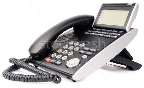 Office digital multi-button telephone Stock photo © vtls