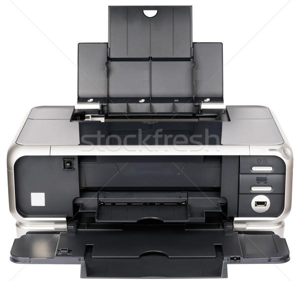 Ink-jet printer front view Stock photo © vtls