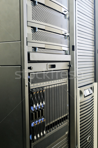 System storage and blade servers Stock photo © vtls
