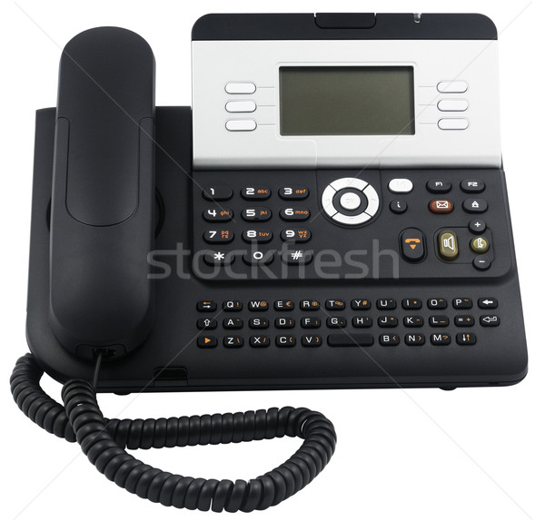 Office telephone set, 6 soft keys Stock photo © vtls