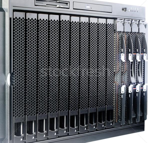 Rack mount blade center Stock photo © vtls