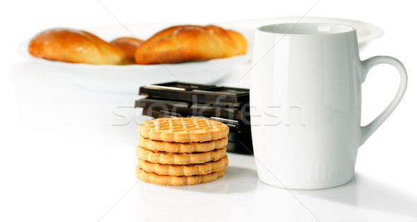 Cup and sweet food Stock photo © vtls