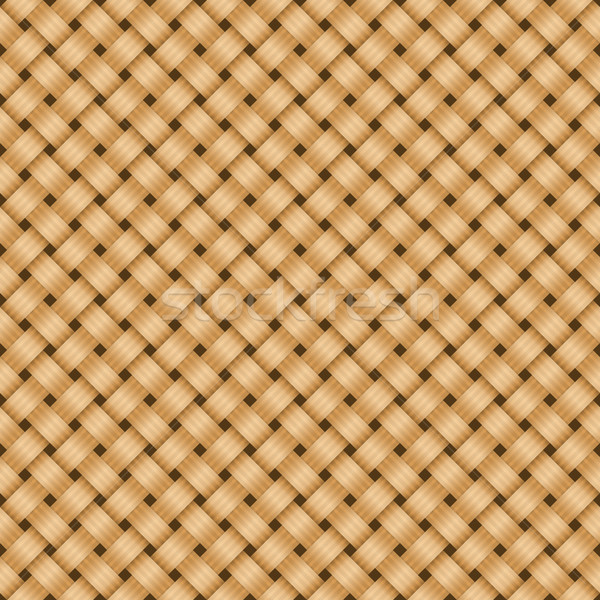 Straw textile background. Stock photo © vtorous
