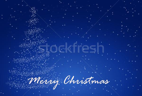 Christmass tree Stock photo © vtorous