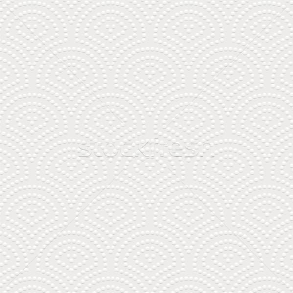 White napkin texture Stock photo © vtorous