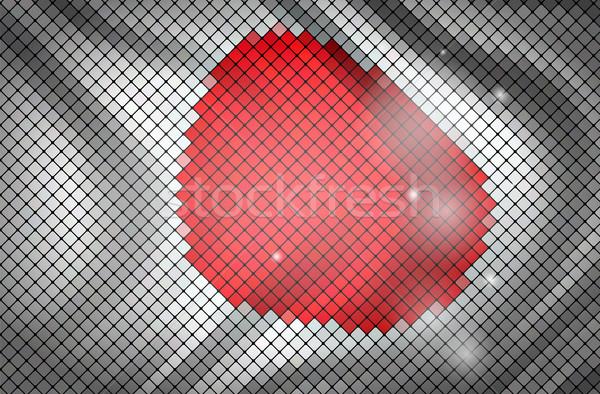 Bayrak Japonya Boyama Kırmızı Duvar Kağıdı Beyaz