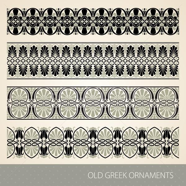 Greek ornament Stock photo © vtorous