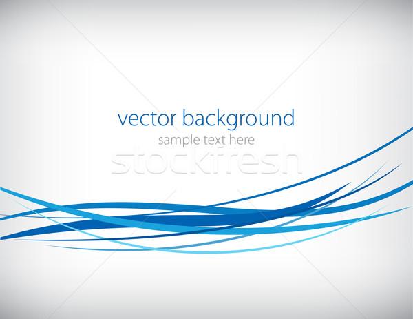 Vetor abstrato luz arte espaço onda Foto stock © vtorous