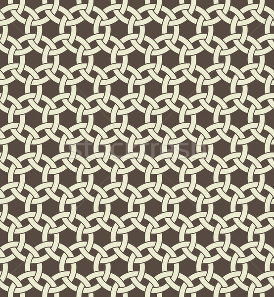 Retro geometric seamless pattern  Stock photo © vtorous