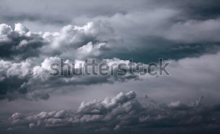 Dark clouds Stock photo © vtorous