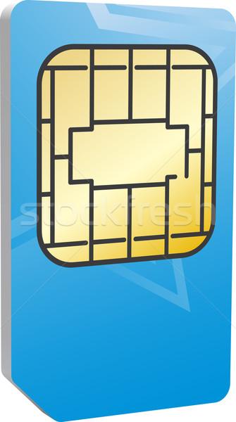 Sim card Stock photo © vtorous
