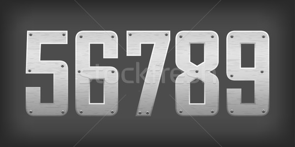 2337 carbon digits Stock photo © vtorous