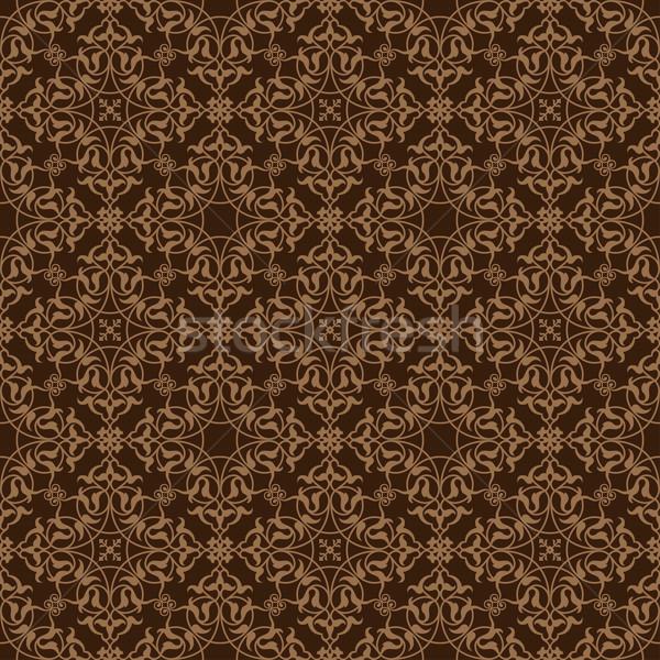 Decorative seamless border Stock photo © vtorous