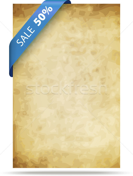 Old paper background Stock photo © vtorous