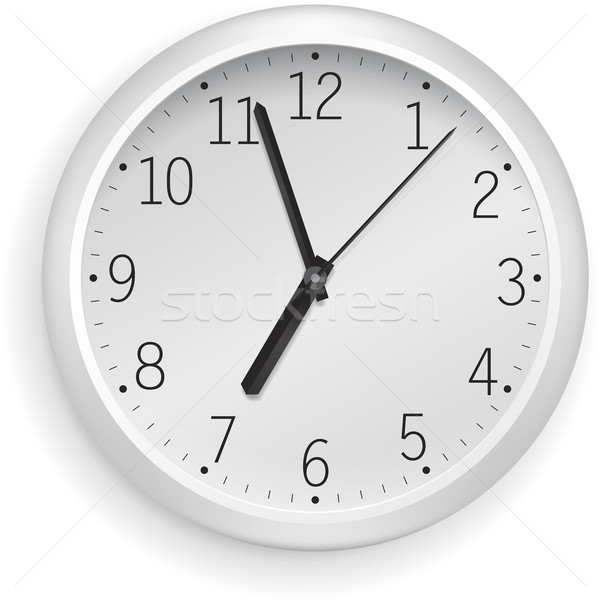 White clock Stock photo © vtorous