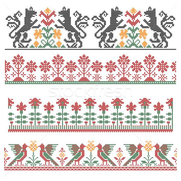 Embroidery Stock photo © vtorous