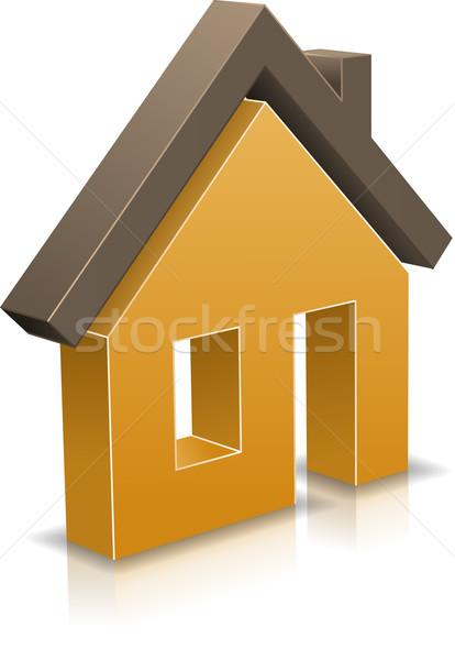 House icon Stock photo © vtorous