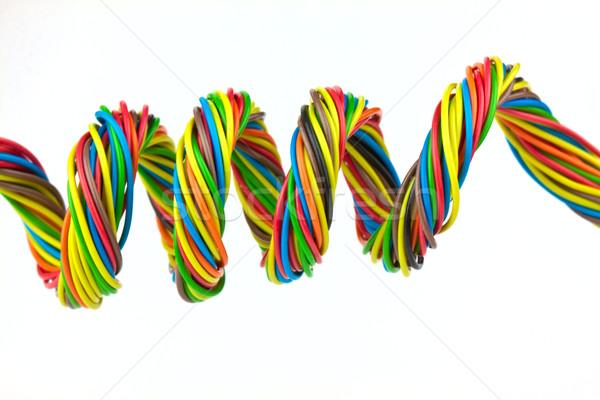 Colore filo colore isolato bianco web Foto d'archivio © vtorous