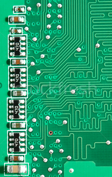 Green pcb  Stock photo © vtorous