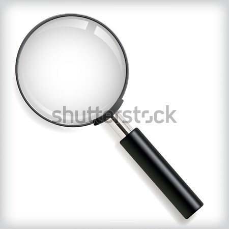 Magnifying glass Stock photo © vtorous