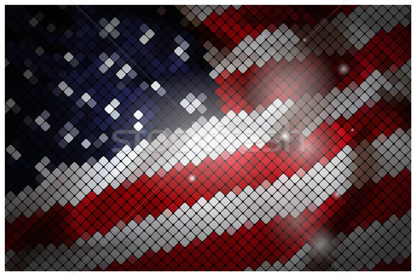 USA flag Stock photo © vtorous