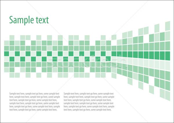Green vector background Stock photo © vtorous