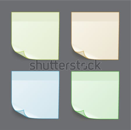 Stock photo: 0390 cont stickers
