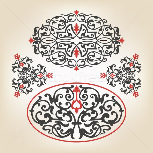 Decorative elements Stock photo © vtorous