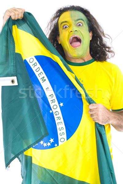 Brazilian Supporter Stock photo © vtupinamba
