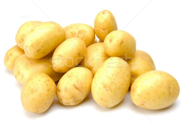 Patatas blanco foto vegetales frescos Foto stock © vtupinamba