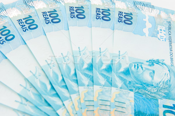 New Brazilian Money Stock photo © vtupinamba