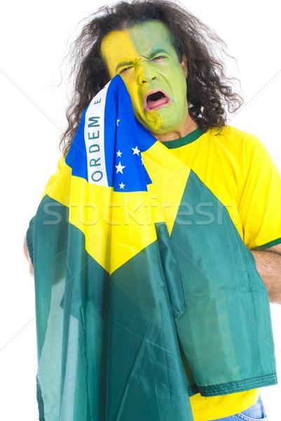 Sad Brazilian Supporter Stock photo © vtupinamba