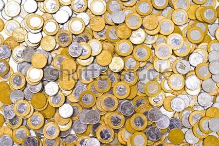 Muchos monedas piso foto textura fondo Foto stock © vtupinamba