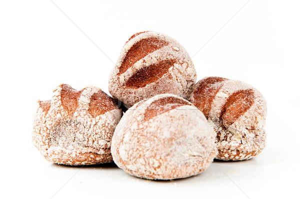 Chleba australijczyk ciemne biały żywności śniadanie Zdjęcia stock © vtupinamba
